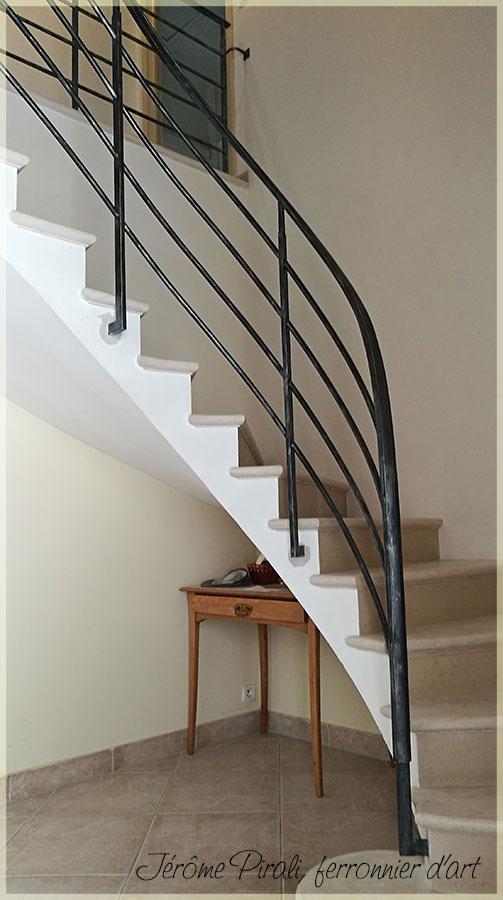 pirali ferronnerie rampe escalier mod le 13. Black Bedroom Furniture Sets. Home Design Ideas