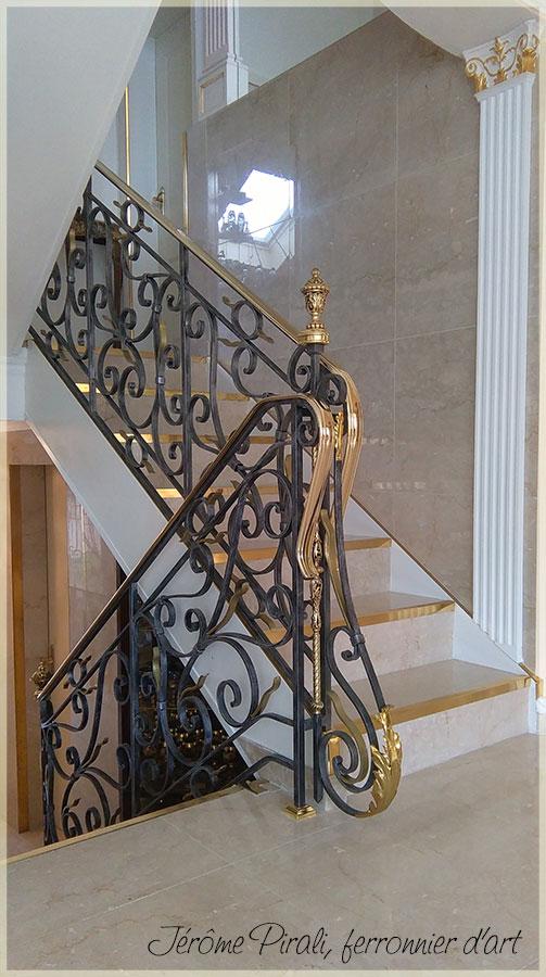 rampe escalier mod le 20. Black Bedroom Furniture Sets. Home Design Ideas