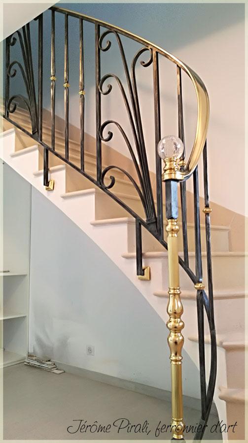rampe escalier pirali mod le 04. Black Bedroom Furniture Sets. Home Design Ideas