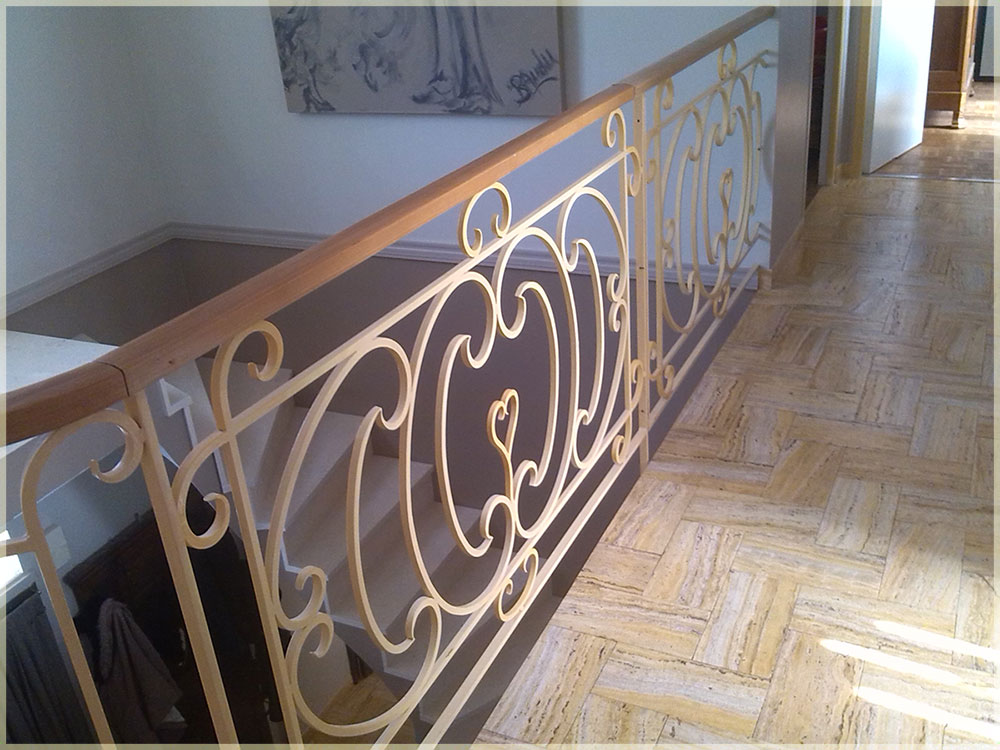rampe escalier en fer forg mod le 15. Black Bedroom Furniture Sets. Home Design Ideas